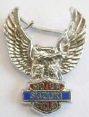 "Suzuki - ""Eagle"" Lapel Badge"